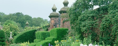 Photo of the gardens at Arley Hall